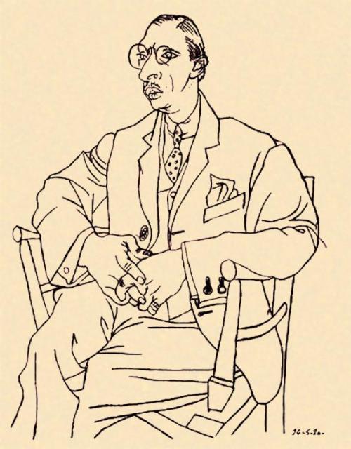 Stravinski_Picasso