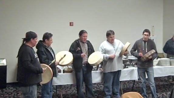 Bad River Singers on Hand Drum.jpg