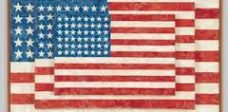 jasper johns flag painting